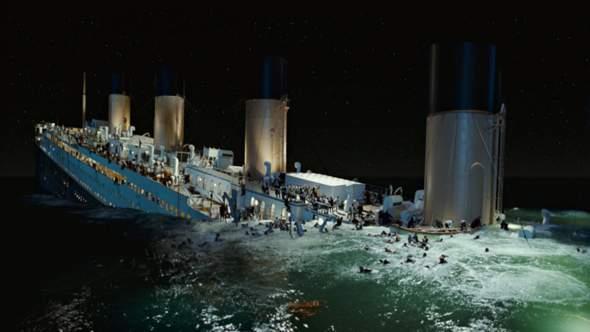 Welche Szene von titanic war trauriger?