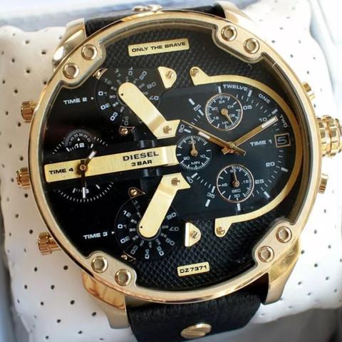 Gold/ Schwarz - (Mode, Kleidung, Uhr)