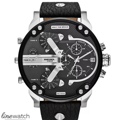 Silber/ Schwarz - (Mode, Kleidung, Uhr)
