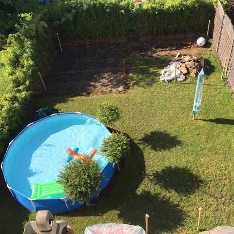 Garten - (Garten, Terrasse, Gefälle)