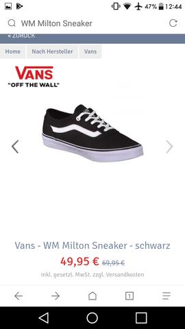 Die haben schwarze nähte statt weiße - (Schuhe, Vans)