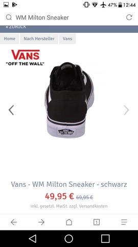 Von hinten - (Schuhe, Vans)