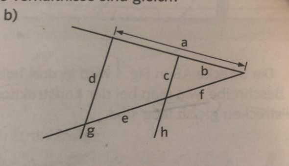 Welche Verhältnisse sind gleich (Strahlensätze)?