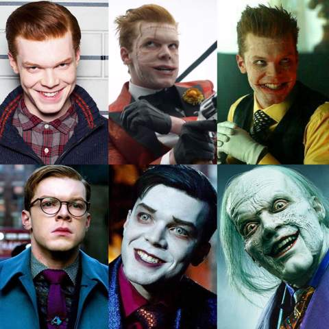 """Welche Version von dem """"Joker"""" aus Gotham fandet ihr besser?"""