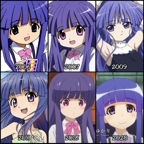 Welche Version von Rika findet ihr am Besten vom Stil her?