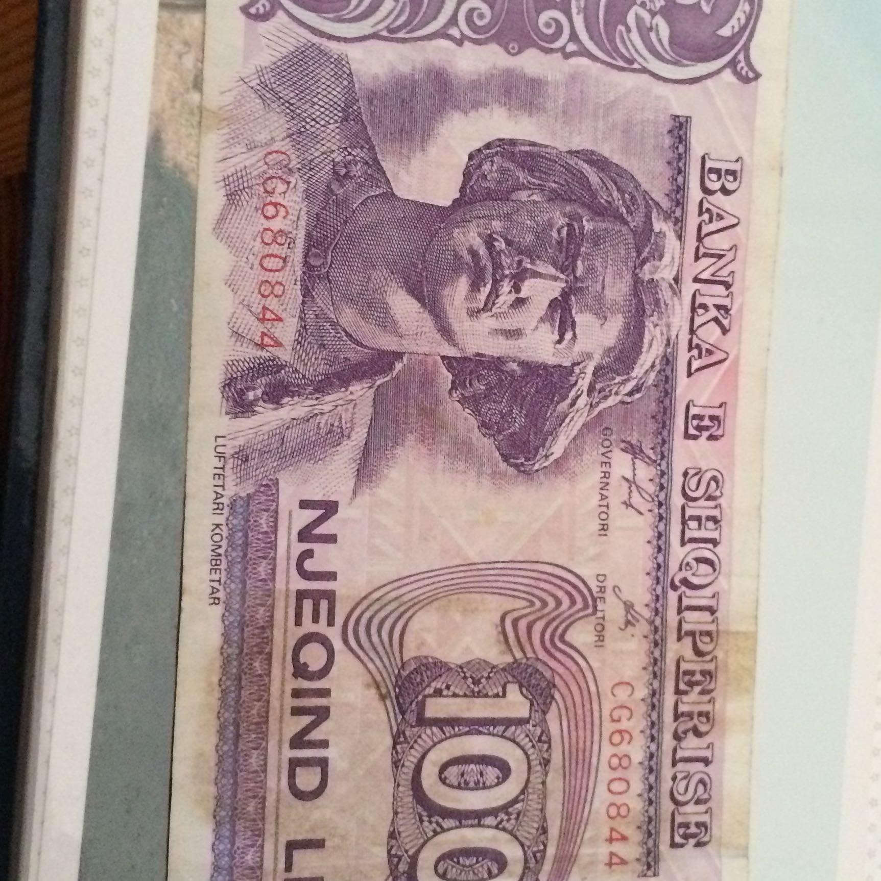 albanische geld währung