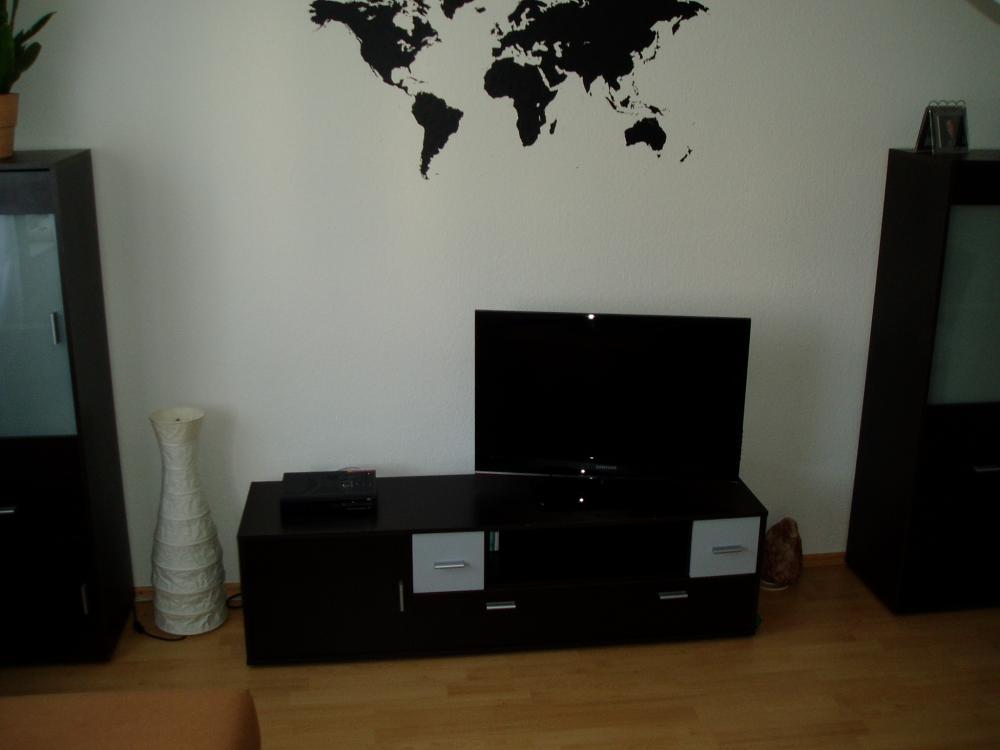 graue wandfliesen k che. Black Bedroom Furniture Sets. Home Design Ideas