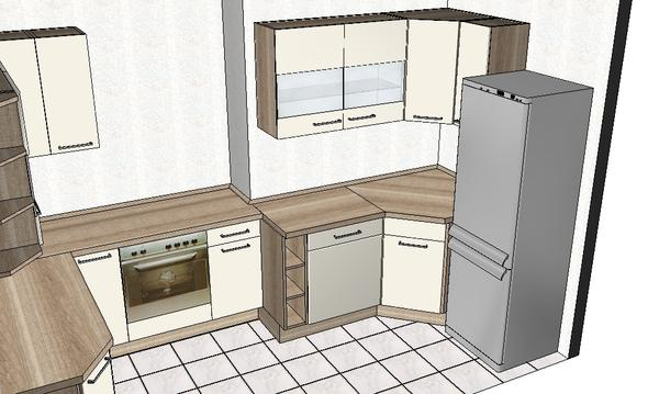 welche wandfarbe passt zur meiner einbauk che tipps k che. Black Bedroom Furniture Sets. Home Design Ideas