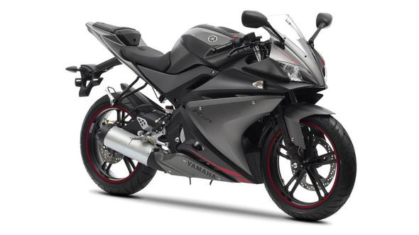Yamaha Yzf R Grey