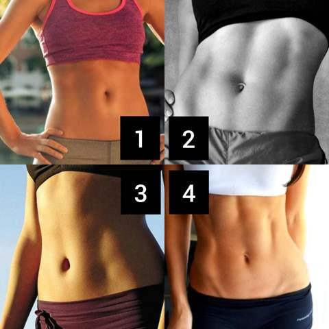 Welchen Bauch findet ihr am schönsten?