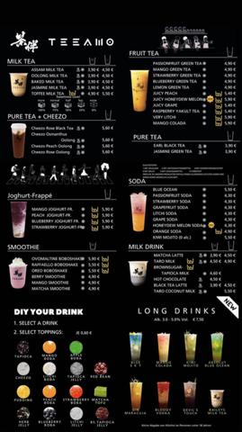 Welchen Bubble Tea wählen?