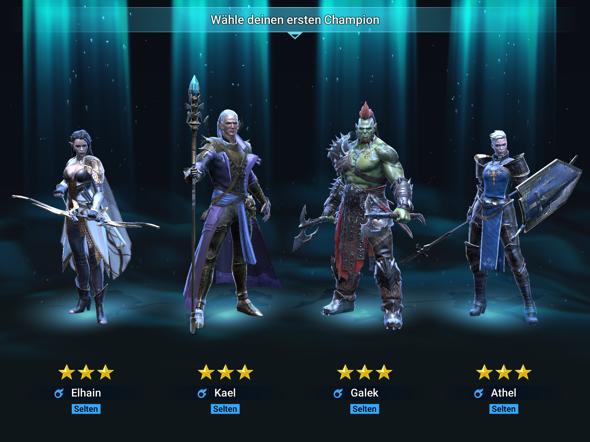 Welchen Champion soll ich bei RAID Shadow Legends nehmen?