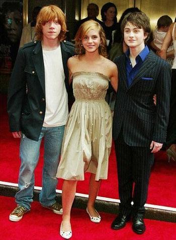 Ron, Hermine & Harry - (Film, Schauspieler, Harry Potter)
