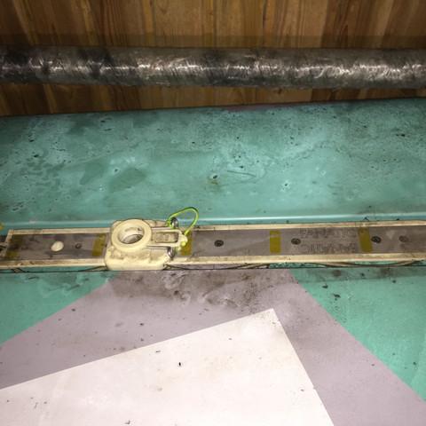 Das ist die Mastfussschiene vom board - (alt, Windsurfen, Mast)