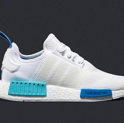 Weis/blau/türkis - (Mode, Schuhe, Style)