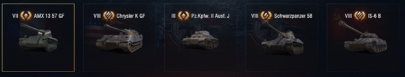 Welchen Panzer soll ich wählen?
