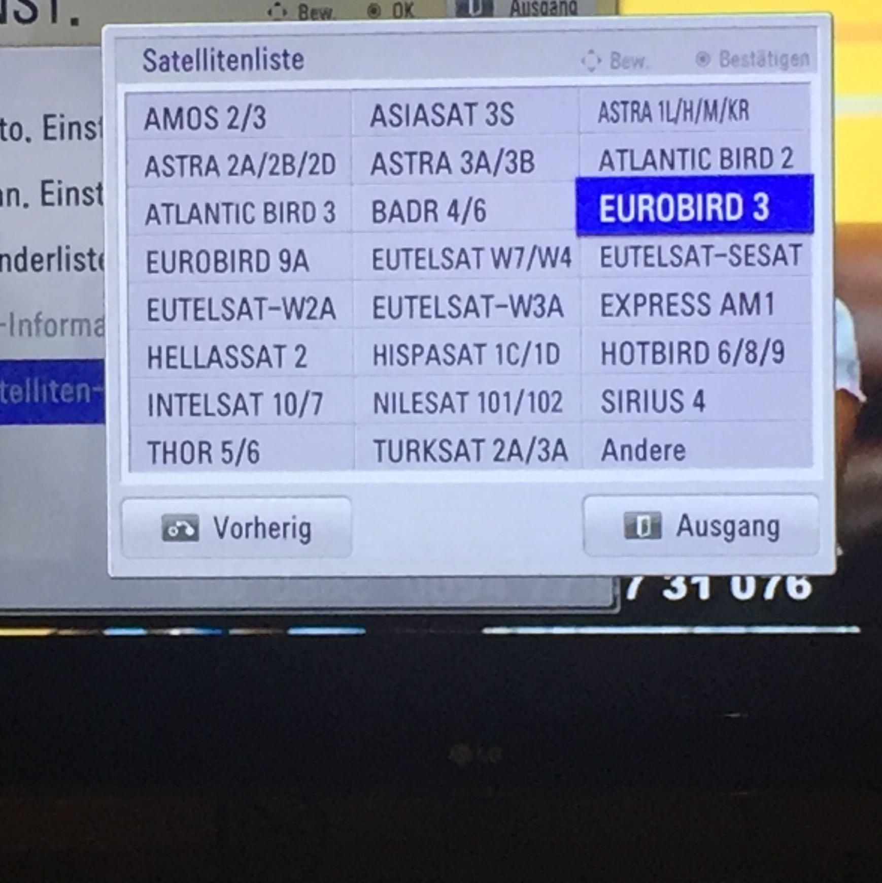 Hotbird Deutsche Sender