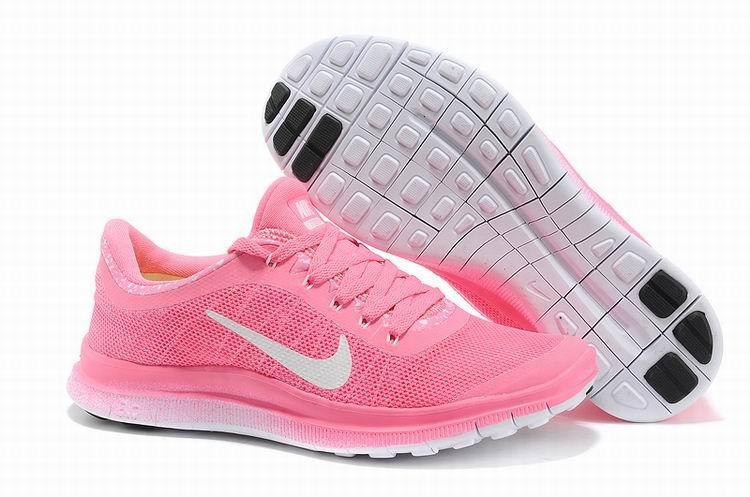 Nike Free Weiß Rosa