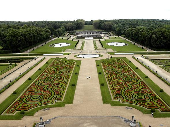 der sogenannte Garten - (Geschichte, Kunst, franzoesisch)