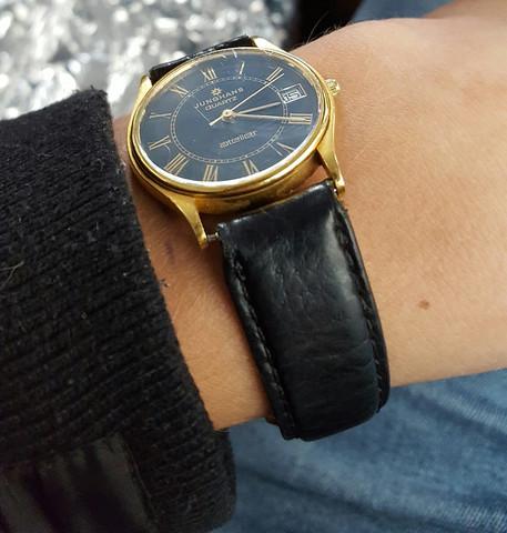 Junghans Atelier Herrenuhr - (Armbanduhr, Junghans)