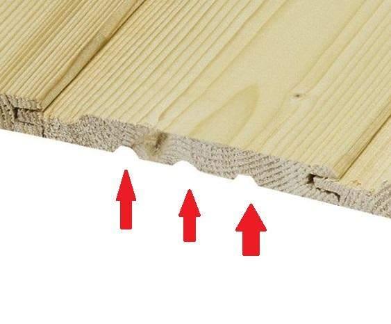 Welchen Zweck haben die Nuten im Profilholz?