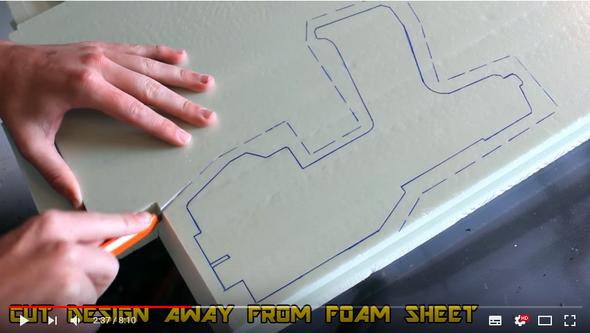 welcher art styropor ist das basteln material. Black Bedroom Furniture Sets. Home Design Ideas