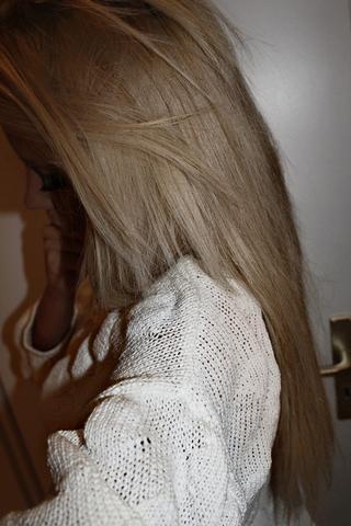 :) - (Haare, Haarfarbe, blond)