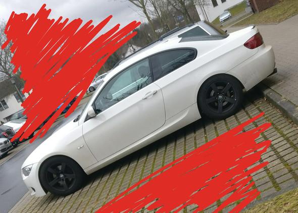 BMW von der Seite - (Auto, suche , BMW)