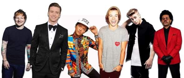 Welcher dieser internationalen Musikstars erreicht euch mit seinem Gesang am meisten?