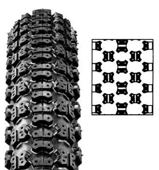 20x2,125cm - (Fahrrad, Reifen, BMX)