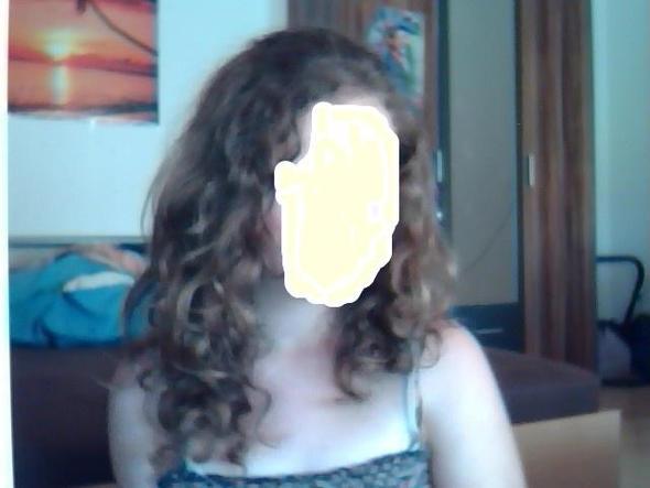 Tja das sind meine Haare :( - (Haare, Locken)