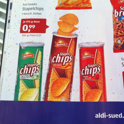 Aldi Süd Chips - (Lebensmittel, Laden, BWL)
