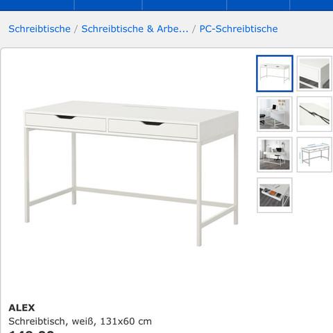 Ikea schminktisch schreibtisch  Welcher Ikea schminktisch eignet sich besser? (alex, MALM)