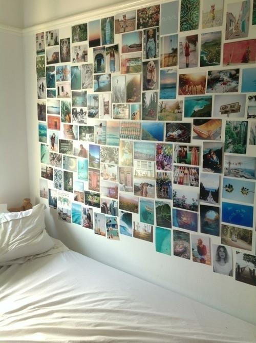 Welcher kleber f r fotowand foto tumblr - Ideen fur fotowand ...