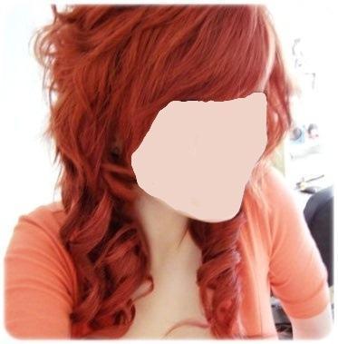 dazu ein lippenstift? - (Haare, rot, Lippenstift)