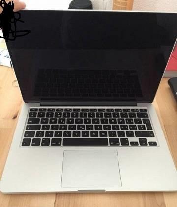 offen - (Apple, Macbook, erkennen)