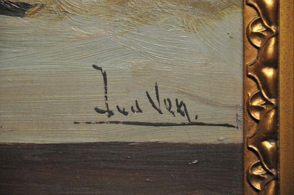 Foto der Signatur - (Bilder, Maler, Signatur)