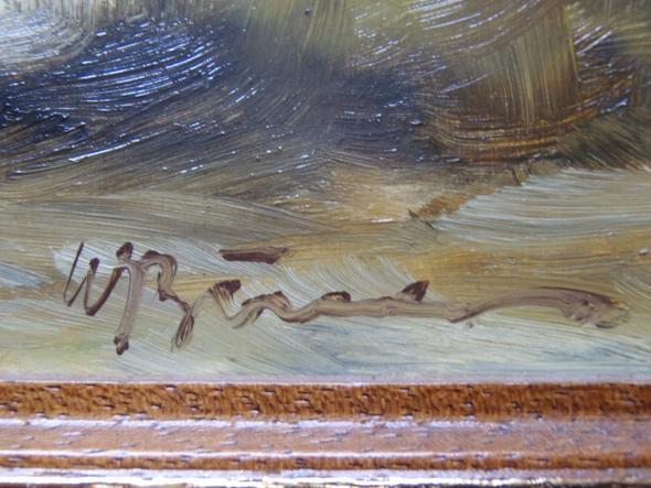 unbekannte Signatur - (Freizeit, malen, Künstler)