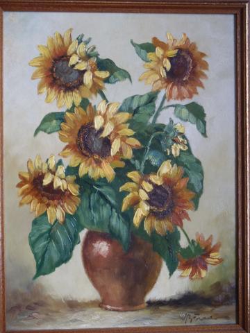 Sonnenblumen - (Freizeit, malen, Künstler)