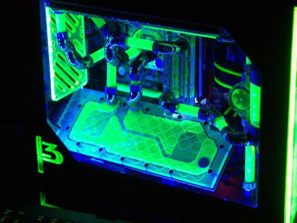 Grüner PC - (Computer, PC, Windows)