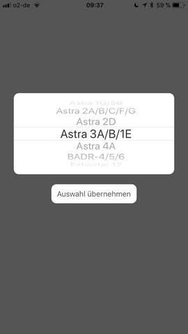 Welcher Satellit Astra Deutschland