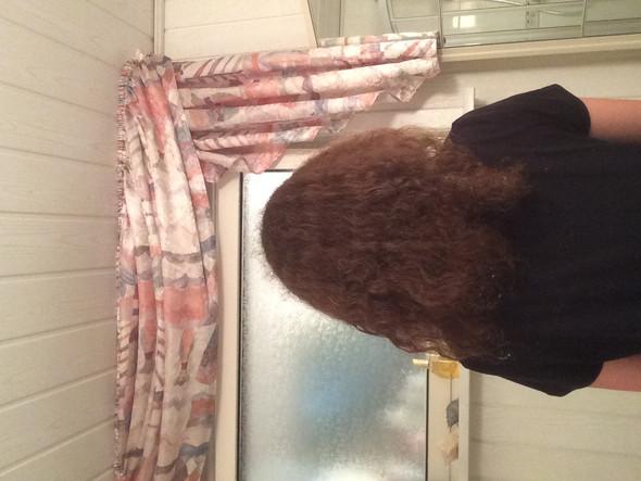 So sehen sie von hinten aus (durchgekämmt) - (Haare, Friseur, Locken)