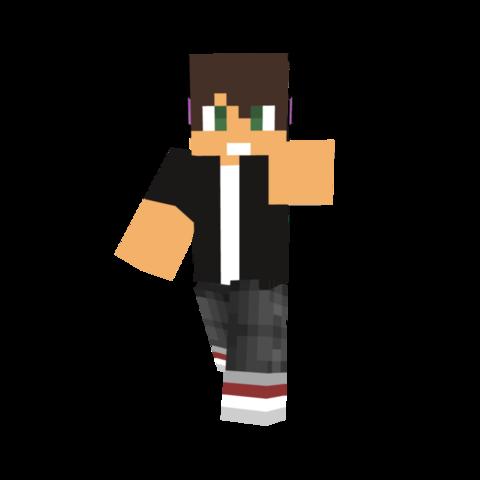 Der Skin, mit Headphone und Kapuze! - (Minecraft, Skin)
