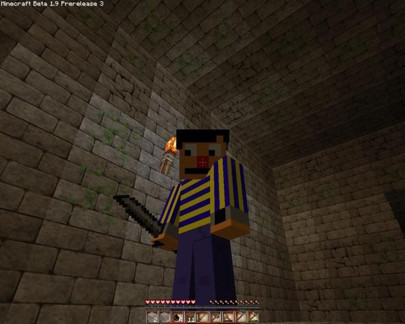 Ernie - (Computer, Minecraft, Aussehen)