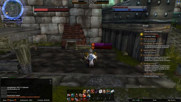 WoW Balken - (World of Warcraft, add-on)
