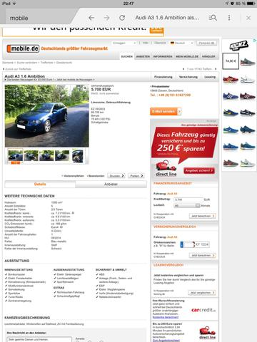 Audi a3 - (Auto, anfängerauto)