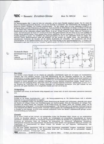 Schaltplan und Aufbau - (Technik, Elektronik, Elektrik)