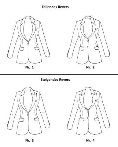 Welches Blazer-Design gefällt euch besser?