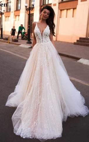 Welches Brautkleid für ein Fotoshooting?