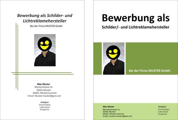 Welches Deckblatt Für Bewerbung Arbeit Ausbildung Kreativ